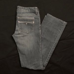 Guess Jeans Low Rise Straight  Prismo Fit Size 28